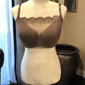 SOMA ...Bra with Sequin embellished Illusion